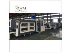 洛澳RC型全自动下折式高速粘箱机 全自动纸箱印刷粘箱联动线