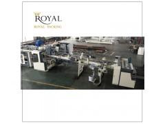 洛澳RC型全自动下折式粘箱机纸箱成型机械设备 瓦楞纸箱粘箱机