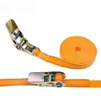 重型吊运打包带柔性集装箱固定带聚酯纤维编织捆绑带