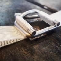 钢丝打包扣 纤维带扣 聚酯纤维回型打包扣 磷化/镀锌打包扣