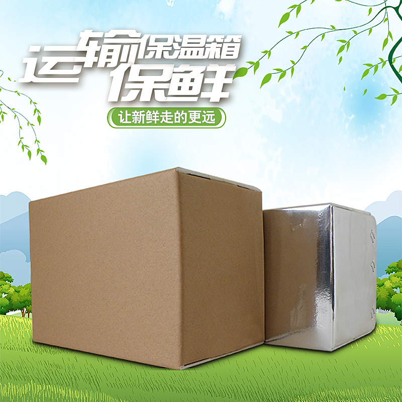 冷链包装_可折叠冷链保温箱_长效保温_志力保温纸箱直销