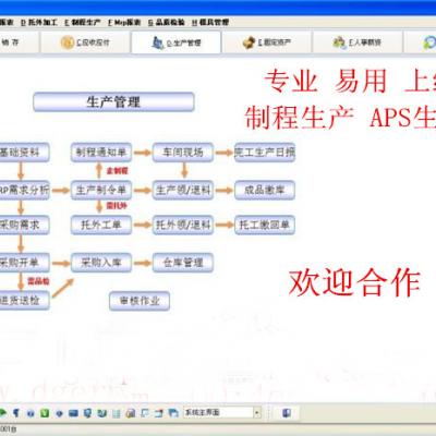 五金,机模,汽配行业ERP软件 生产管理系统