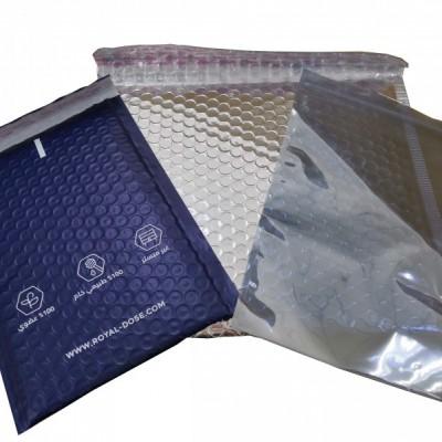 共挤膜白色气泡袋 电商快递专用 服装包装电子产品防震防摔