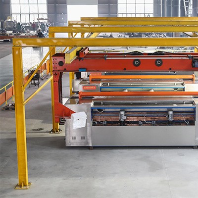 浙江温州凹版电镀线,电镀生产线,电镀自动线,湖北典强机械生产